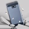 (610-001)เคสมือถือซัมซุง Case Samsung A9 Pro เคสนิ่มขอบพลาสติกสไตล์กันกระแทกลายขนแปรงทูโทน