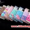 (022-059)เคสมือถือซัมซุง Case Mega 6.3 เคสพลาสติกใส Rhinestone สวยๆไล่โทนสี Diy สไตล์ผู้หญิง