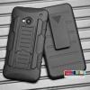 (002-040)เคสมือถือ HTC one M7 เคสนิ่มกันกระแทกรุ่นเหน็บเอว