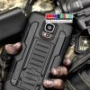 (002-016)เคสมือถือซัมซุงกาแล็คซี่เอส 5 Samsung Galaxy Case เคสกันกระแทกแบบเหน็บเอว