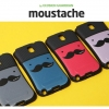 Ecoskin Guardian : Moustache Anti-Shock Cover Case For Galaxy A7 (2016)