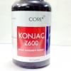 "CORE"" KONJAC Z600 (คอนยัค ซี 600 ) ขวด 50 capsules"