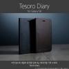 Zenus : Tesoro Diary Italian Genuine Leather Cover Case For Samsung Galaxy S6