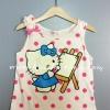 H&M---เสื้อกล้ามจุดชมพู ลายคิตตี้ Kitty ผ้านิ่มใส่สบาย เหมาะกับ summer นี้ค่ะ
