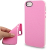 Case เคส 2-color Series TPU iPhone 5 (Pink)