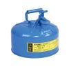 ถังเก็บสารเคมี,ของเหลวที่กัดกร่อน ขนาด 2.5 GEL (SAFETY CAN-BLUE)