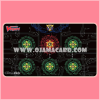 Ultra•Pro Cardfight!! Vanguard Card Game Playmat - Base Red on Black