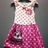 H&M ชุดกระโปรงแขนกุดแต่งระบาย ลายจุด สกรีนมินนี่เม้าส์ Minnie Mouse น่ารักฝุดๆ