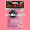 Ultra•Pro Pro-Matte Standard Deck Protector / Sleeve - Bright Pink 50ct.