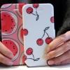 (440-004)เคสมือถือไอโฟน Case iPhone5C เคสพลาสติกฝาพับ PU ลายสวยๆ น่ารักๆ เทห์ๆ