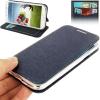 เคส ผ้า ลินิน Samsung Galaxy S 4 IV (i9500) สีน้ำเงินเข้ม