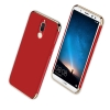 (025-708)เคสมือถือ Case Huawei Nova 2i เคสพลาสติกแฟชั่นสไตล์เรียบหรูขอบทอง