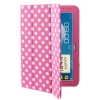 Case เคส Dot Leather Case Samsung Galaxy Note (10.1) (N8000) (N8010) Pink
