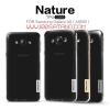 (385-040)เคสมือถือซัมซุง Case Samsung A8 พรีเมี่ยมเคสนิ่มใสบางสไตล์ Nillkin Nature
