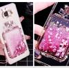 (559-001)เคสมือถือซัมซุง Case Samsung A9 Pro เคสนิ่มทรายดูดกากเพชรขวดน้ำหอม