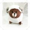 ตุ๊กตาไลน์ Line ลาย หมีบราวน์ Brown ปีแพะ ขนาด 40 cm