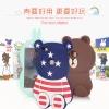 (013-018)เคสมือถือวีโว Vivo X6 Plus เคสนิ่มตัวการ์ตูนกระต่ายและหมี 3D