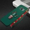 (477-016)เคสมือถือไอโฟน Case Samsung S8+ เคสนิ่มลายกระบองเพชร 3D