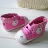 BE2019 (Pre) รองเท้าผ้าใบ Hello Kitty (0-1 ขวบ)