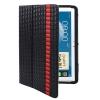 Woven Texture Samsung Galaxy Note (10.1) >> N8000 >> N8010, Black