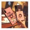 (665-016)เคสมือถือไอโฟน Case iPhone X เคสนิ่มลาย Pink Panther