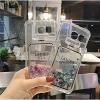 (442-047)เคสมือถือซัมซุง Case Samsung S6 edge เคสนิ่มใสทรายดูดแฟชั่นสวยๆ