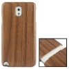 Mahogany Wood Material Case เคส Samsung Galaxy Note 3 (III) / N9000 ซัมซุง กาแล็คซี่ โน๊ต 3