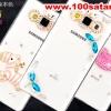 (022-048)เคสมือถือซัมซุงแกรนด์ case grand 2 เคสพลาสติกใสประดับคริสตัลสวยๆ