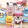 (151-204)เคสมือถือซัมซุง Case Note5 เคสนิ่มฝาพับ PU ลาย Disney 2D น่ารักๆ