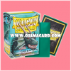 Dragon Shield Standard Size Card Sleeves - Green • Classic 100ct.
