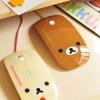 Rilakkuma Optical Mouse เมาส์น้องหมีน่ารัก (ซื้อ 3 ชิ้น ราคาส่งชิ้นละ 250)