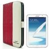 Case เคส Embossing 2สี Samsung Galaxy Note 8.0 (N5100) (Magenta)
