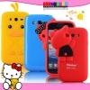(128-016)เคสมือถือ Galaxy Grand I9080/I9082 เคสนิ่ม 3D แมว ไก่