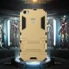(394-022)เคสมือถือ Vivo XPlay5/Elite เคสกันกระแทกขอบนิ่มพร้อมขาตังโทรศัพท์ในตัวทรง IRON MAN