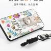 (025-816)เคสมือถือ Case Huawei P9 เคสนิ่มซิลิโคนลายน่ารักพร้อมแหวนมือถือและสายคล้องคอถอดแยกได้