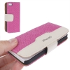 Case เคส Straw Mat iPhone 5 (Magenta)