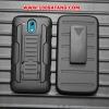 (002-148)เคสมือถือ Case HTC Desire 526 เคสกันกระแทกขอบสีรุ่นเหน็บเอว