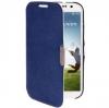 Case เคส แบบ Flip Samsung GALAXY S4 IV (i9500) Blue