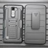 (002-172)เคสมือถือ Case LG Stylus 2 เคสนิ่ม+พื้นหลังประกบแบบพลาสติก+มีขาตั้ง+ที่เหน็บเอวสไตล์กันกระแทก
