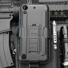 (002-182)เคสมือถือ HTC Desire 530 เคสนิ่ม+พื้นหลังประกบแบบพลาสติก+มีขาตั้ง+ที่เหน็บเอวสไตล์กันกระแทก