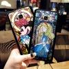 (576-012)เคสมือถือไอโฟน Case Samsung S8+ เคสพลาสติกใสโมเสคลายการ์ตูน