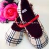 (เด็กโต) รองเท้าลาย Burberry มาใหม่ค่ะ งาน made in thailand มีสายคาดเล็กๆ ติดกับรองเท้า พื้นรองเท้ากันลื่น เรียบๆ ใส่ได้ทุกโอกาสค่ะ size 24-27