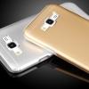(373-020)เคสมือถือซัมซุง Case Samsung Galaxy J7 เคสนิ่มฝาหลังโลหะแบบบางสไตล์ 2 ชิ้น