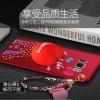 (477-020)เคสมือถือไอโฟน Case Samsung S8+ เคสนิ่มลายหัวใจ 3D แฟชั่น