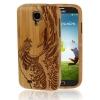 Case เคส ไม้ไผ่ ลายคลื่น Samsung Galaxy S 4 IV (i9500)