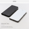 Zenus : Minimal Genuine Leather Protect Diary Cover Case For Galaxy S7