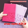 (391-076)เคสไอแพด iPad mini1/2/3 เคสนิ่มสมุดเปิดข้างลายแมวน่ารักๆ DOMI CAT