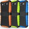 (427-001)เคสมือถือซัมซุง Case Mega 5.8 เคสนิ่มพื้นหลังพลาสติกแข็งขอบสีกันกระแทก
