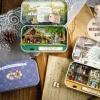 (331-004)แบบบ้านประดิษฐ์โมเดลประกอบ DIY ชุดกระปุกของขวัญ