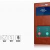 (603-004)เคสมือถือซัมซุง Case Samsung Galaxy C5 เคสฝาพับระบายอากาศดีสไตล์หนัง cowhide สำเนา